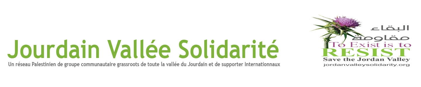 Jordan Valley Solidarity FR