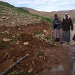 L'esercito israeliano demolisce almeno 15 edifici palestinesi e distrugge impianti idrici