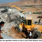 Israele demolisce quattro case a Jiftlik nella Valle del Giordano.