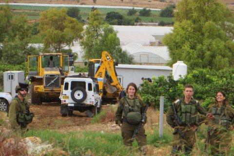 Ancora demolizioni nel villaggio di Al Jiftlik nella Valle del Giordano.