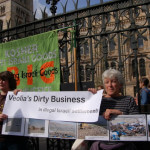 London Protest Against Veolia