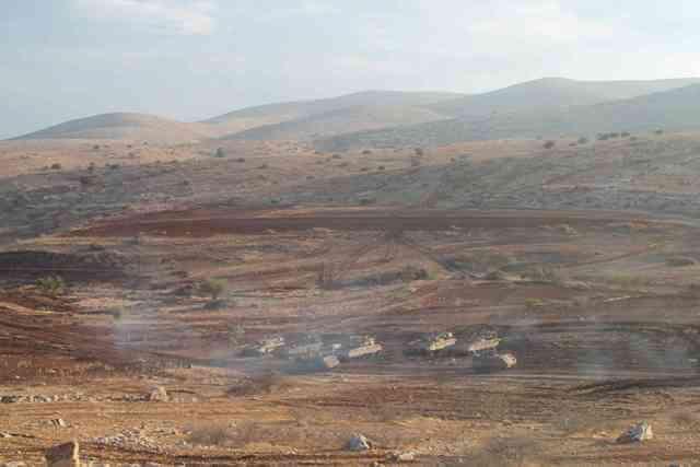 Al Maleh around Tayasir 12th November 2012