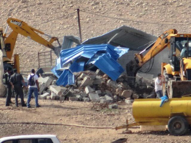 Abel al Ajaaj demolitions 2 24 Jan 2013