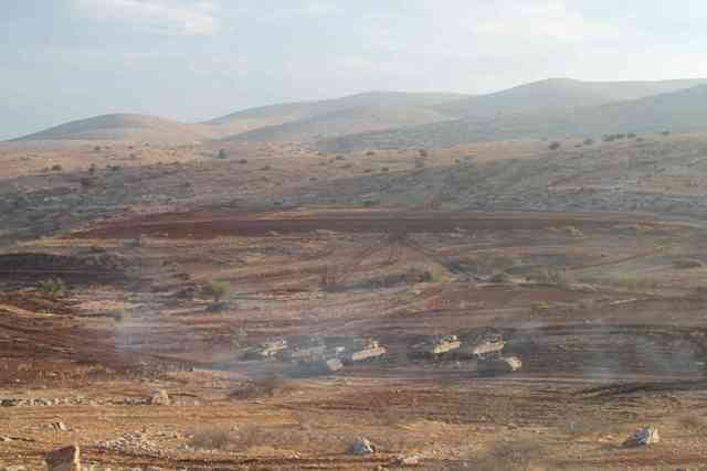 12th November 2012 Joint Israeli and US military exercises in Al Maleh area