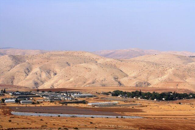 Settlements in Jordan valley 20Sep12