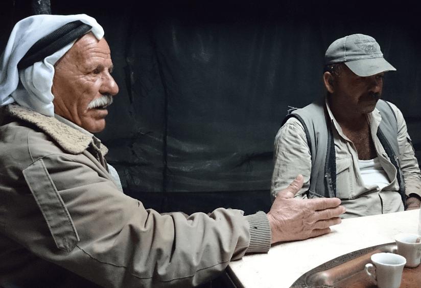 Ali Abu Lakbash in Humsa