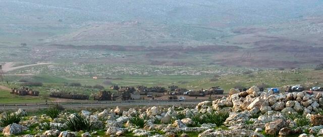 Military training in al Maleh 2nd January 2013