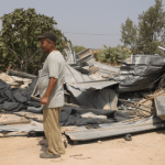 Israeli Army destroys Palestinian homes in Al Aqaba