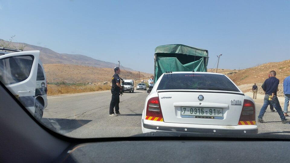 Hamra checkpoint 17Oct15b