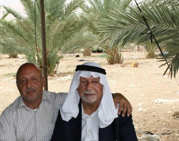 Palestinian date farm in Al Jiftlik Oct 2008