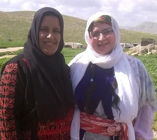 An invitation to work with the Jordan Valley women's project