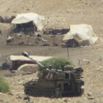 Occupation forces invade villages for military training