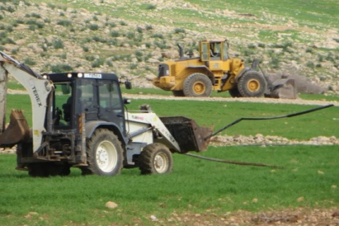 Only source of clean water to Al Hadidiya community destroyed by occupation