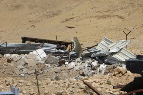 Demolitions in Al Jiftlik